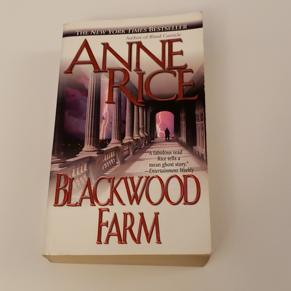 📚 5 for $20 Anne Rice, Blackwood Farm